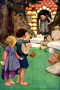 Hansel y Gretel por Jessie Willcox Smith