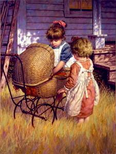 JIm Daly pintor niños