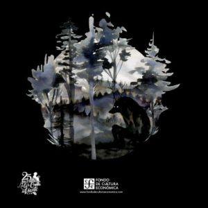 """Contracubierta del libro """"El bosque dentro de mi"""" Adolfo Serra."""